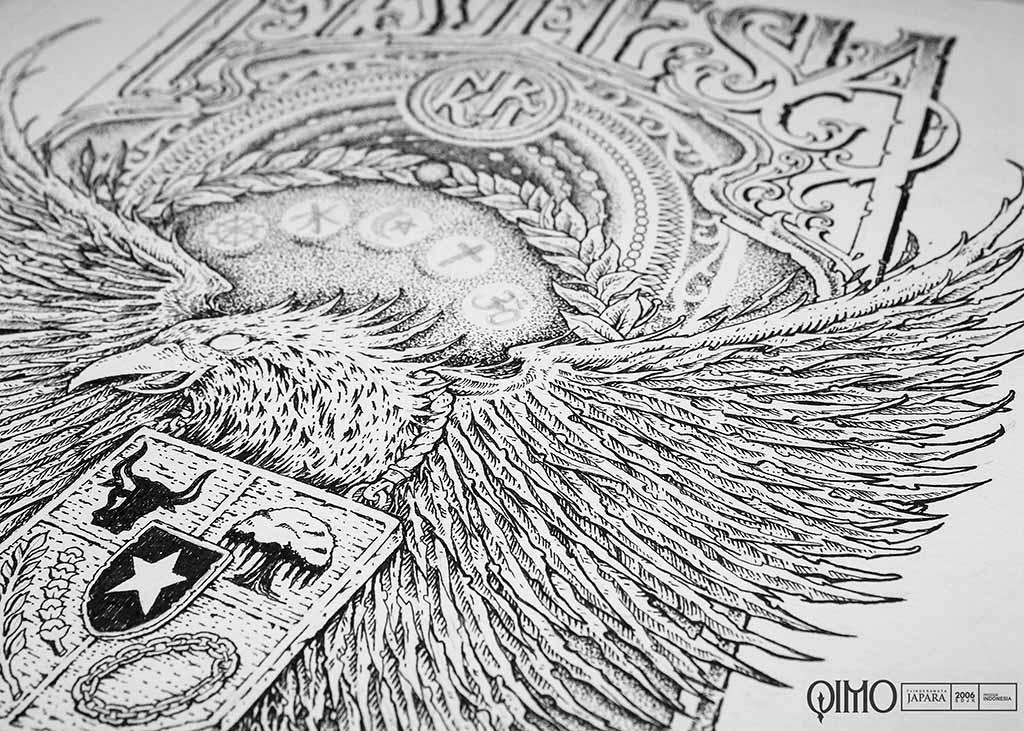 Qimo Japara Desain Garuda Kaos Negara Kesatuan Republik Indonesia Kartini Jepara