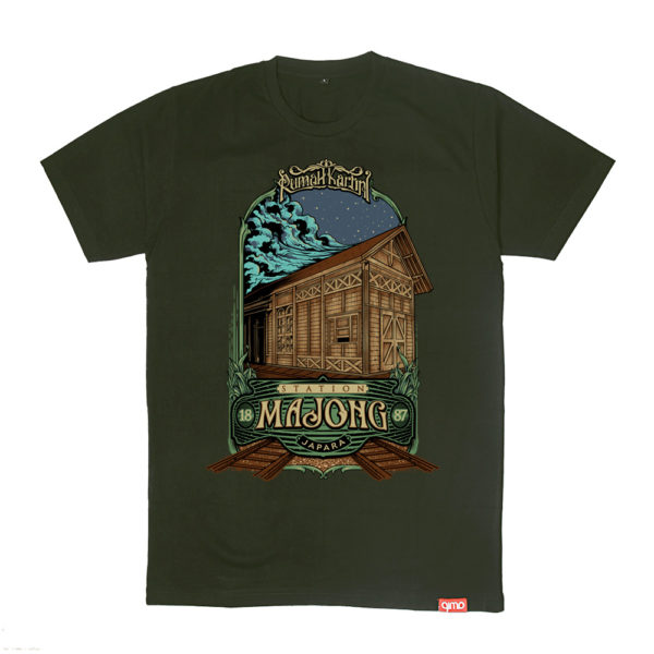 Cinderamata-kaos-khas-sejarah-stasiun-mayong-budaya-seni-qimojapara-serie-heritage-Rumah-Kartini-Jepara-Indonesia