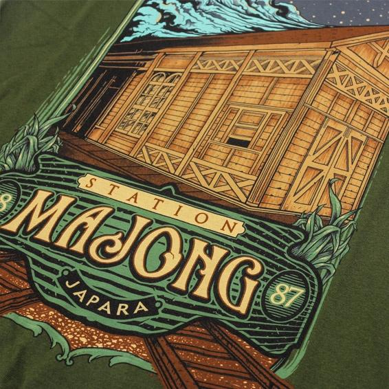 Souvenir-Kaos-Khas-qimoJapara-Series-Rumah-Kartini--tentang-Stasiun-Mayong-Jepara