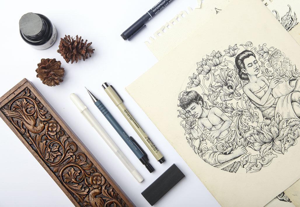Souvenir-Oleh-oleh-Kaos-khas-QimoJapara-Jepara-Indonesia