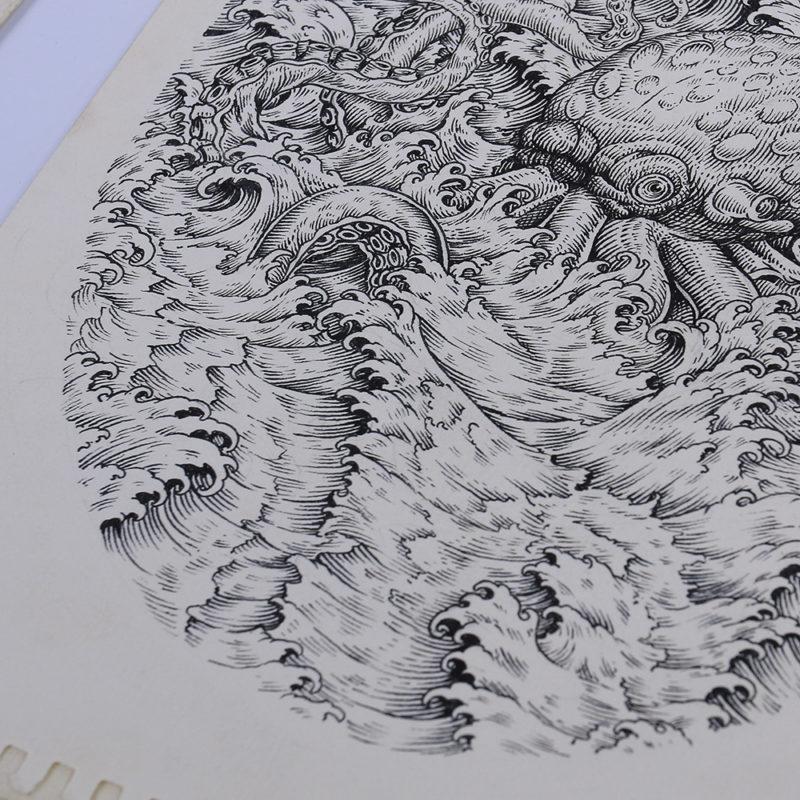 Desain Souvenir-Kaos-oleh-oleh-khas-Karimun-Jawa--Jepara-Illustrations-QimoJapara-Indonesia
