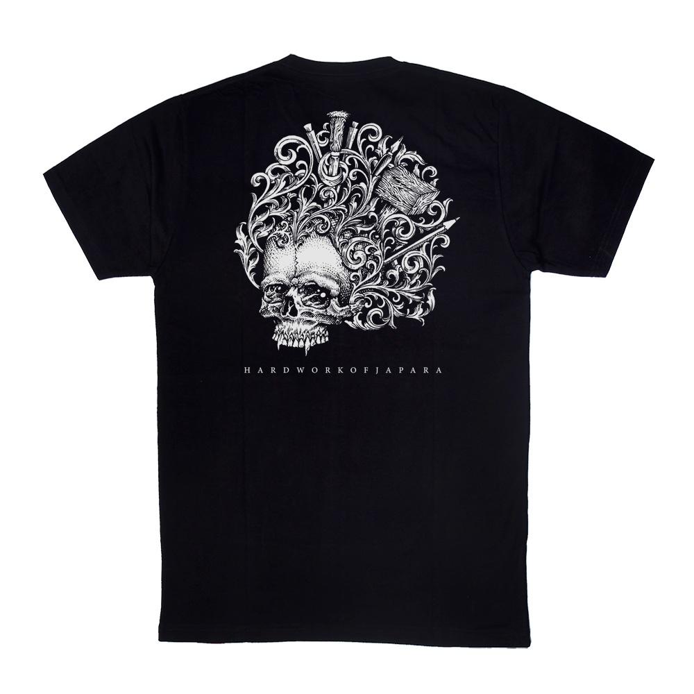 Souvenir-Kaos-Jepara,Desain-Hard-Work-Of-Japara-Distro-QimoJapara-Indonesia